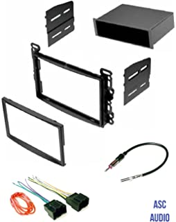 Amazon.com: ASC Stereo Dash Kit, Wire Harness, and Antenna Adapter on