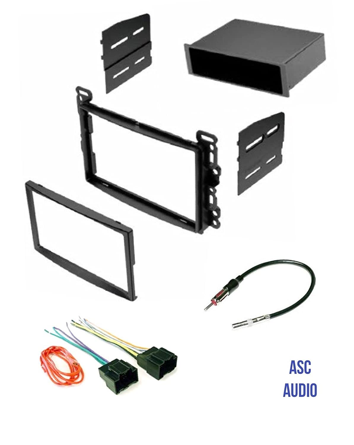 Asc Audio Car Stereo Dash Kit Wire Harness And Antenna 2008 Pontiac G5 Adapter For Some Chevrolet Saturn Vehicles Compatible Listed Below