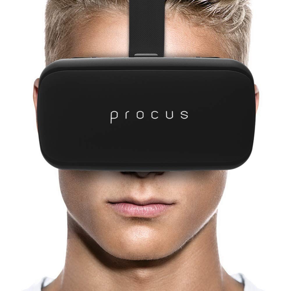 Procus ONE Virtual Reality Headset 42MM Lenses -For VR Video Gaming, Movies, Pictures