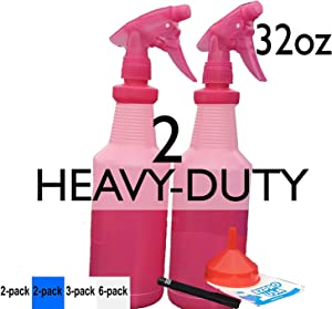 Sweepstakes: EZProUSA Pink Spray Bottle Industrial Chemical Resistant...