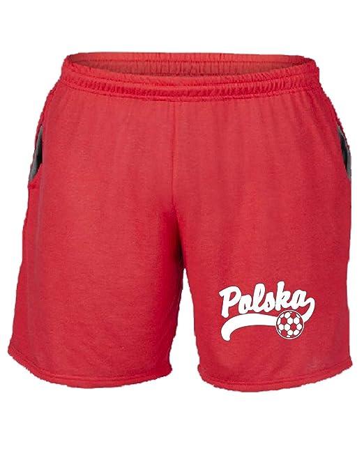 Speed Shirt TSTEM0241 Polska Soccer - Pantalón Corto de chándal ...