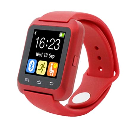 Bluetooth Smart muñeca reloj podómetro saludable para iPhone LG, Fitness Tracker, Antimi Smartwatch con