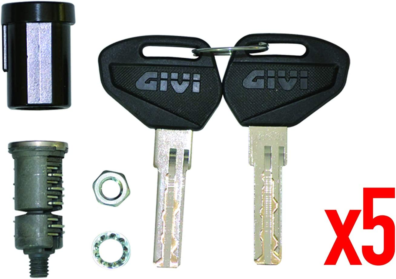 Givi SL105 - Juego de Cerradura de Seguridad