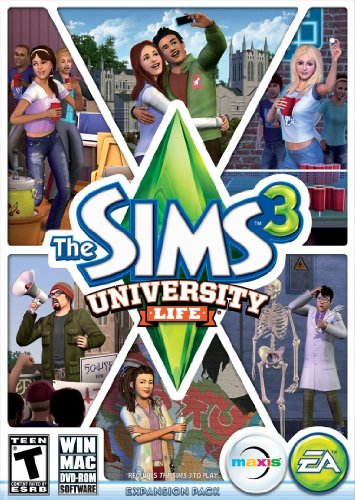 The Sims 3 University Life (Sims 3 University Code)