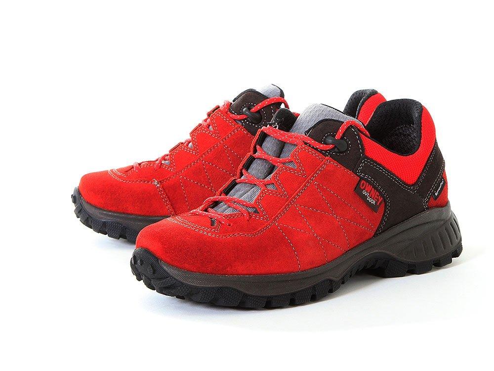 4 Outdoorschuh für Hundebesitzer Schuhe anthrazit Owney Balto 9 rot Low 76yvbYgf