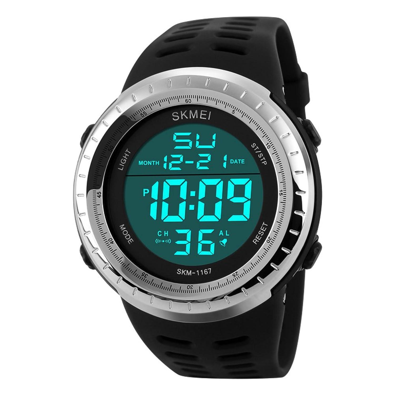 Men 's Large Dial/クオーツ時計/アウトドアファッションof the Boysスポーツwatch-c B06XCDBL7Y
