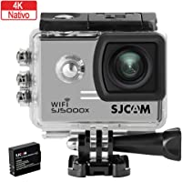 SJCAM SJ5000X Elite Wi-Fi 4K Aksiyon Kamerası-Gri