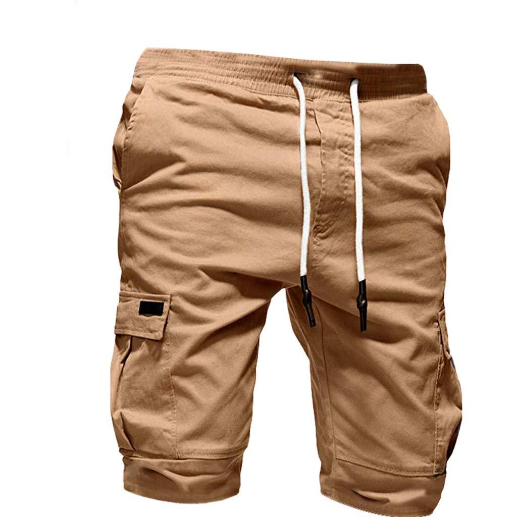 Alangbudu Men Jogger Pants Biker Slim Fit Casual Active Elastic Gym Athletic Running Sports Sweatpants with Drawstring