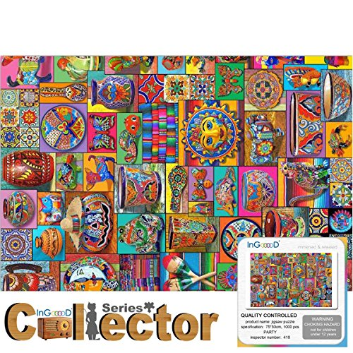 Ingooood- Jigsaw Puzzle- Collector Series- Party - 1000 Pieces for Adult Graduation by Ingooood