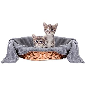 Bestlivings Manta para Mascotas, Manta para Gatos, Manta para Animales, Agradable y Muy