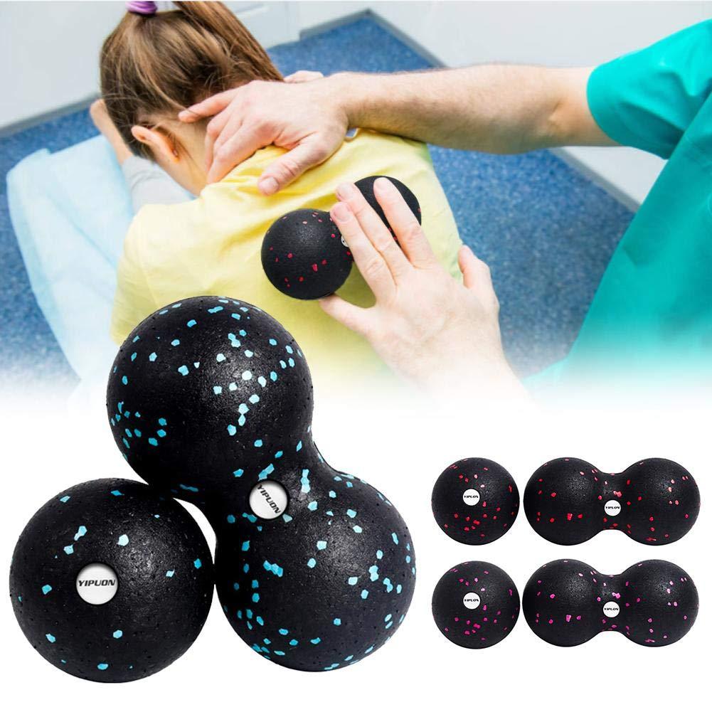 Kit De Massage en Tissu Profond pour Auto-Massage Et Entra/înement De Fascia Kit De Balles De Fascia bouncevi Peanut Ball