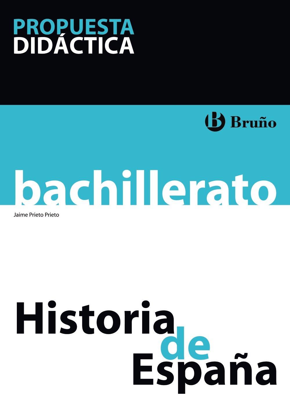 Historia de España Bachillerato Propuesta didáctica: Amazon.es ...