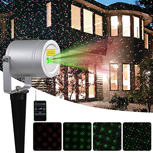 Outdoor Holiday Laser Light Projector