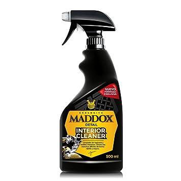 Maddox Detail 30201 Interior Cleaner-Limpiador de Tapicería Textil, Alfombrillas Y Techos (500 ml)