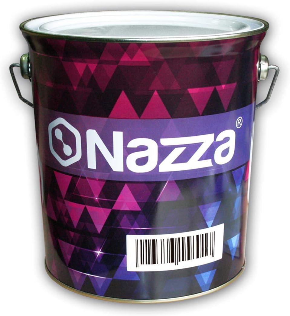 Esmalte Sintético Nazza con Poliuretano - Uso interior y exterior - Rápido secado - COLOR BLANCO SATINADO - 4 Litros