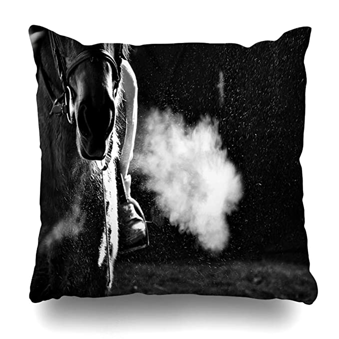 Ahawoso Throw Pillow Cover Square 20x20 Broadened Anchor Container Ship Anchored Algeciras Bay During Fuel Port Nature Anchorage Boat Bulb Cadiz ...