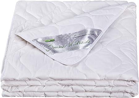 Made in Germany Decke Sommer Bettdecke Leicht Steppbett dünn kochfest kühl