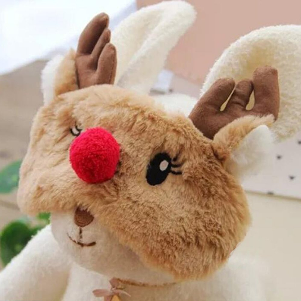 f/ête Pour adultes et enfants Masque en soie pour les yeux Motif 3D de lapin ou koala Zhichen Bandeau r/églable Pour yoga voyage sommeil