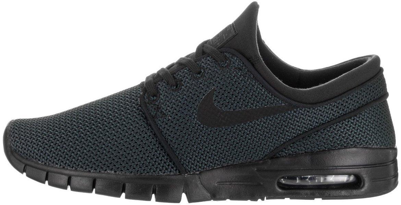 Svart svart 013 Nike Stefan Janoski Max, Unisex Vuxna Low -Top skor