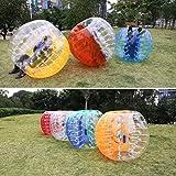 Ancheer Inflatable Bumper Bubble Balls Dia 5FT (1.5m) Human Knocker Body Zorb Ball Bubble Soccer Football (Blue)