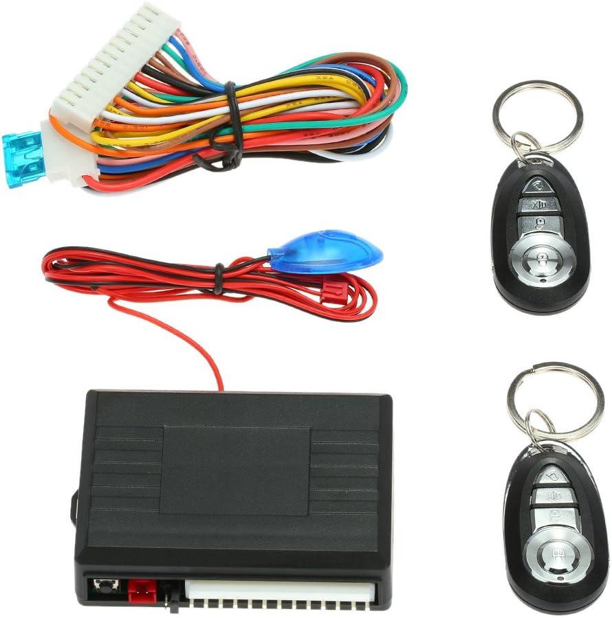 KKmoon - Mando a distancia para cerradura central del automóvil - Sistema de apertura sin llave Kit 3