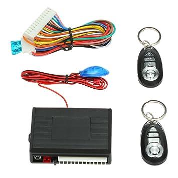 KKmoon Mando Central de coche cerradura cierre Keyless Entry System Kit 3