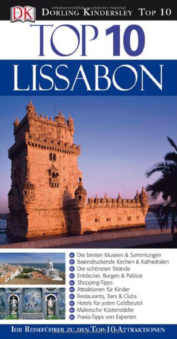 Top 10 Reiseführer Lissabon