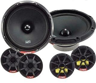 """Vauxhall Vivaro Front Door Speakers Kicker 6.5/"""" 17cm car speaker kit Pods 240W"""