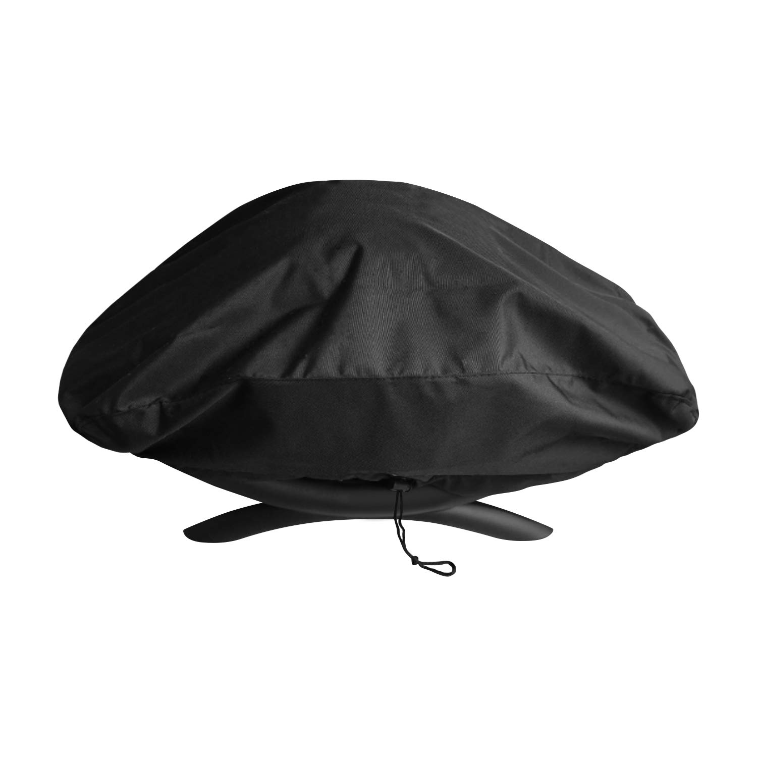 UNICOOK Heavy Duty Waterproof Portable Grill Cover for Weber Q2000, Q200 Series and Baby Q Gas Grill, Compared to Weber 7111, Special Fade and UV Resistant Material, Black