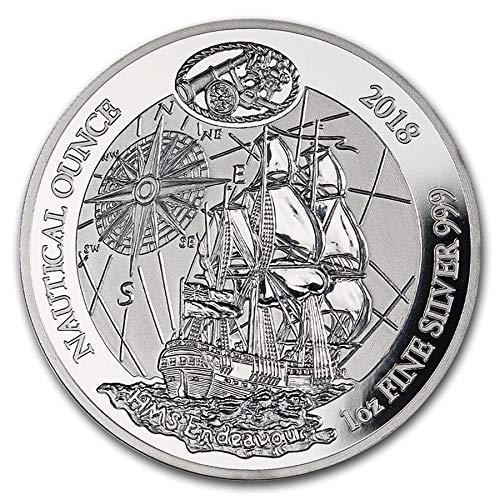 ahorra hasta un 50% Chewies Collection 2018 2018 2018 Ruanda Nautical Onza Series HMS Endeavour Proof 1 Troy Oz (31,1 g) 999 Plata  ofreciendo 100%