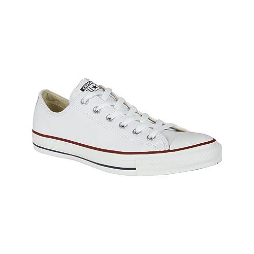 Converse Chuck Taylor All Star Ox Unisex White White Scarpe da Ginnastica 5 UK