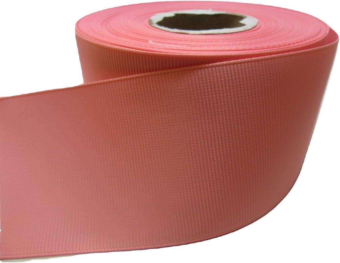 2 metros de 38 mm cinta acanalada grogu/én luz de beb/é color rosa de doble cara boda favores decorativo Pascua Navidad manualidades 38mm