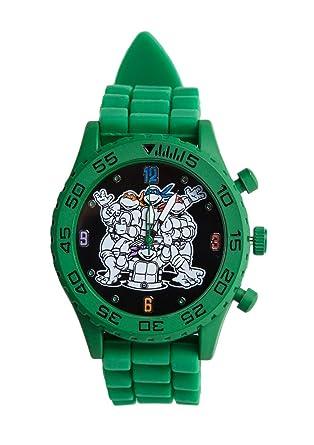 Amazon.com: TMNT teenage mutant ninja turtles reloj verde ...