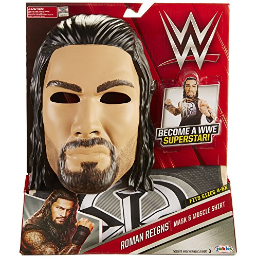 WWE Roman Reigns Mask and Muscle Shirt Dress