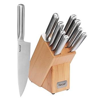 Compra hecef Set de Cuchillo, Juego de Cuchillos de Cocina ...