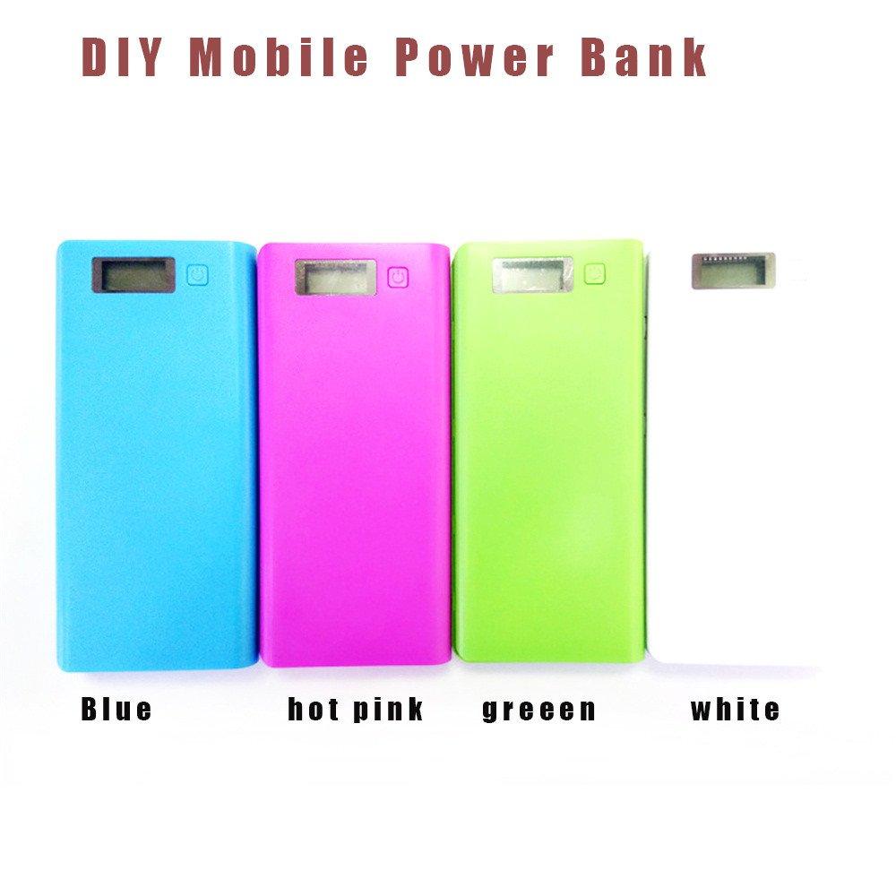 Amazon.com: Huangou ❤ Estuche de banco de energía ❤ DIY ...