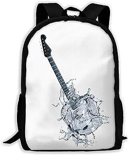 Backpacks Boy's Shoulder Bag Daypack School Season Creative Guitar Water Traveling Bags