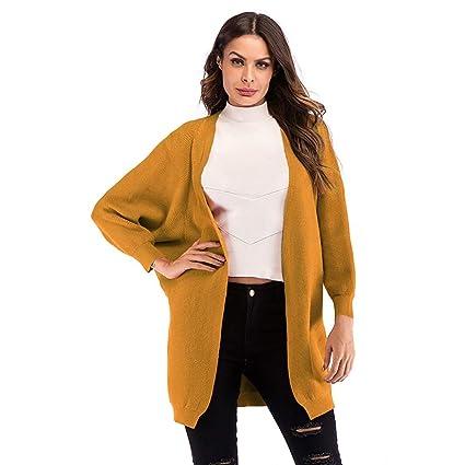 GSS-Abrigos Chaqueta De Invierno para Mujer Casual Chaqueta De Punto Suelta De Algodón Chaqueta