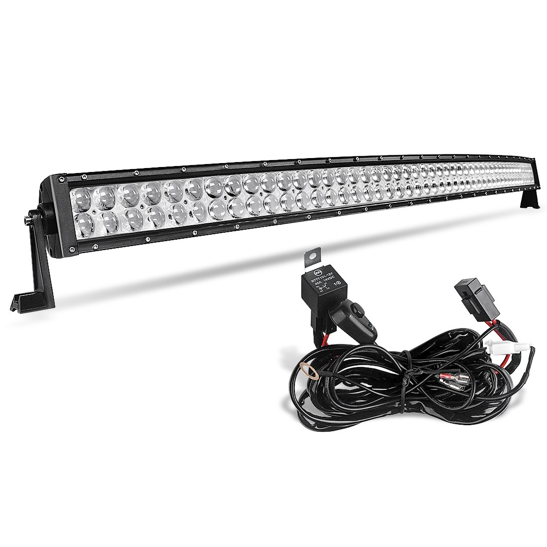 Amazon.com: AUTOSAVER88 4D 52 Inch Curved LED Light Bar 500W with ...