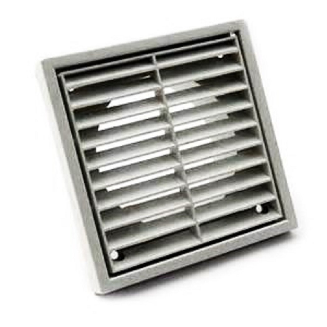 Manrose 1151w 100 mm 4-inch Fixed Wall Grille - White