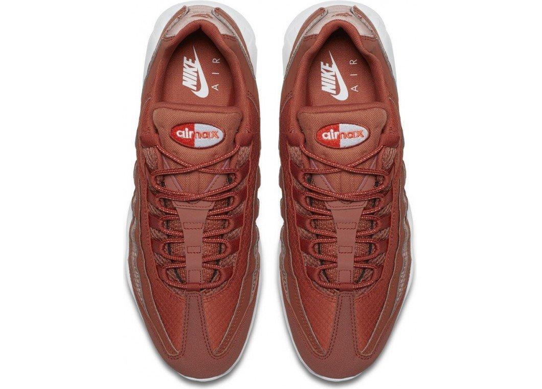 Nike Air Max 95 Premium SE Men Dusty Peach White 924478-200 (11.5) by Nike (Image #5)