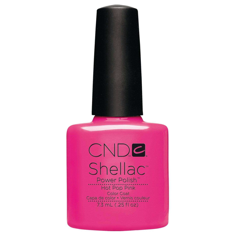 CND Shellac Hot Pop pink, 1er Pack (1 x 7 ml): Amazon.de: Beauty