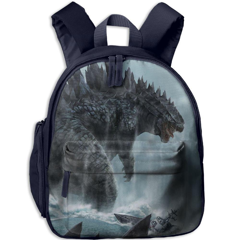 Amazon.com: TRDY PAGE Godzilla Mochila escolar preescolar ...