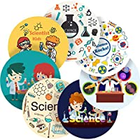 "Rocking Science Reward Sticker Labels, 70 Stickers @ 1"" inch, Glossy Photo Quality, Ideal for Children Parents Teachers Schools Doctors Nurses Opticians"