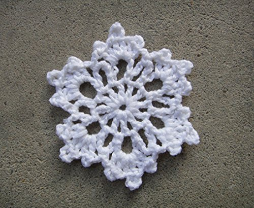 (Crochet Snowflake Homemade Christmas Ornaments Decorating Idea (12 pcs))