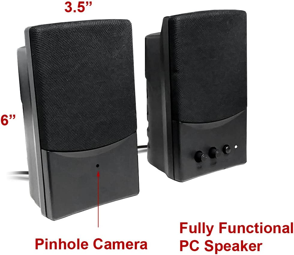 Spy camera with audio: Wireless Spy Camera