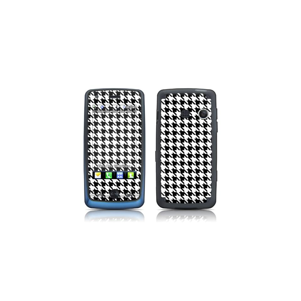 Houndstooth Design Protective Decal Skin Sticker (High Gloss Coating) for LG Banter Touch UN510 Cell Phone Cell Phones & Accessories
