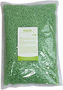 Prettyia 500g, Hard Wax Beans, Bikini Pearl Hot Waxing Beads Facial Hair Removal Depilatory for Arm Face Body Eyebrow Nose Legs - Aloe
