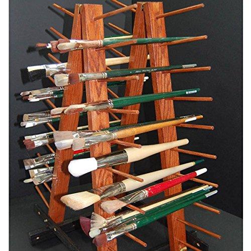 Creative Mark Rue Art Drying Rack, Perfect For Artist Canvas Panels, Paper,  Prints, Ladder Style Storage Rack  Mahogany Finish   HBJ 01 U003c Drying U0026  Print ...