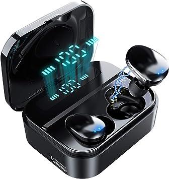2000mAh Wireless 5.0 Headset Kabellos Sport Kopfhörer Ohrhörer Stereo Kopfhörer